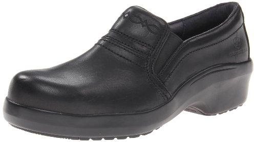 ARIAT Womens Expert Safety Clog Comp Toe Static Dissipative Clogs/Shoes 7.5 B/Medium(Width) Black
