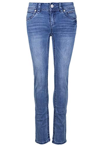 Blue Monkey Damen Jeans Stacy 30137 Strasssteine