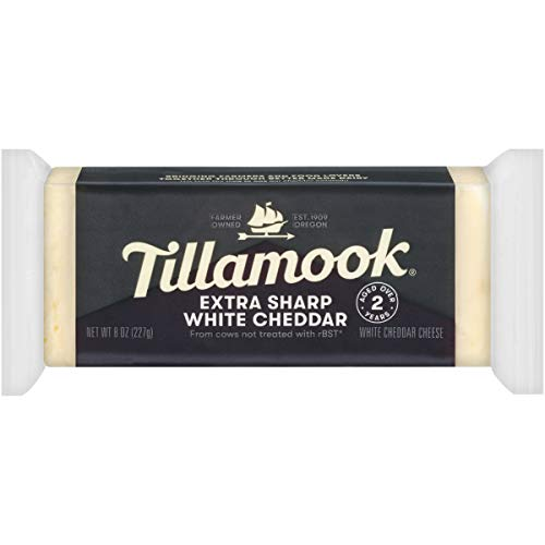 Tillamook, Vintage White Extra Sharp Cheddar Cheese, 8 oz