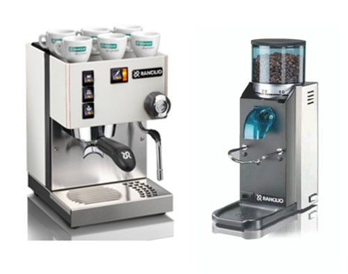 Silvia E New 2016 and Rocky NO DOSER Coffee grinder - Rancilio