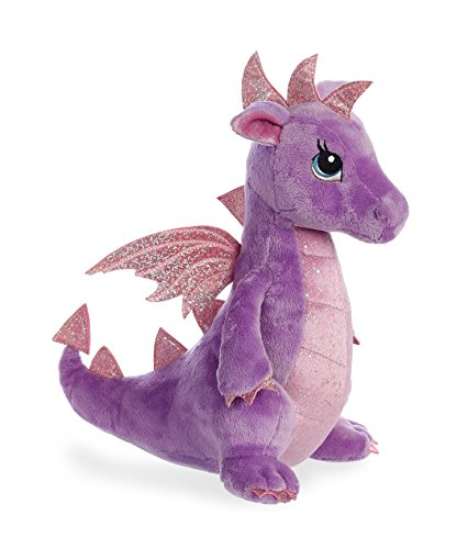 Aurora World 30837 Larkspur Dragon, Violett