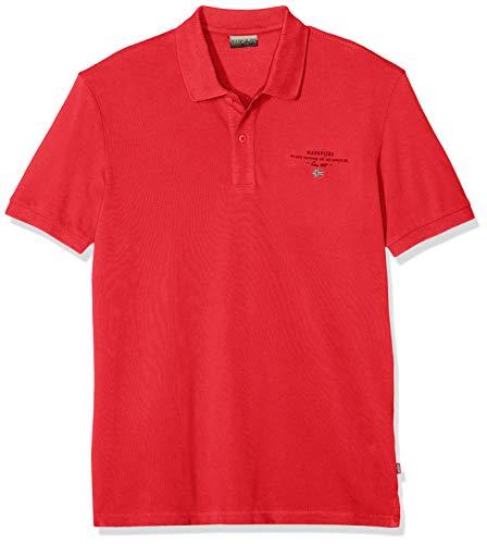 NAPAPIJRI Elbas 2 Polo, Rosso (True Red R70), Small Uomo
