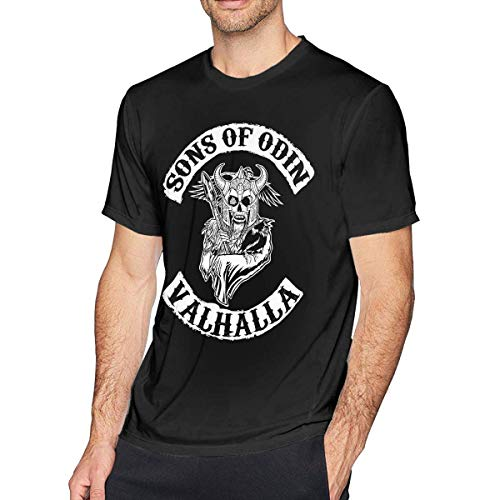 De los Hombres Particular Sons of Odin - Valhalla Chapter Manga Corta tee...