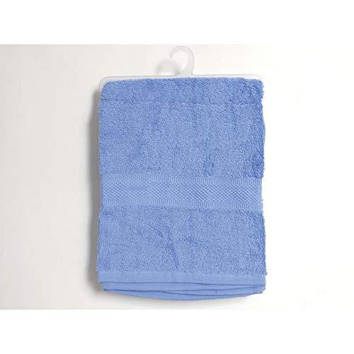 Soleil docre 441100 Douceur Drap de Bain Coton Blanc 70 x 130 cm