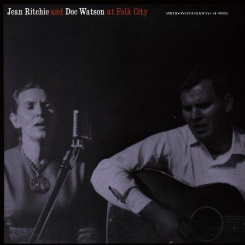 Jean Ritchie and Doc Watson at Folk City by Jean Ritchie (1992-07-13)