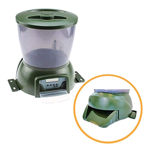 Pisces Automatic Pond Fish Feeder