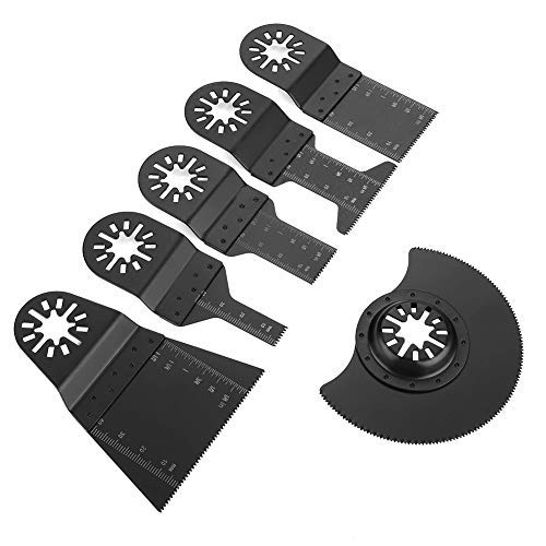 Fantastic Prices! Standard 6-piece oscillating saw blade High-carbon steel multi-purpose saw blades ...