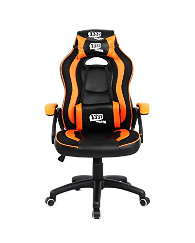 1337 Industries Silla GC650 - Silla Gaming (Naranja)