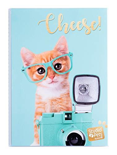 Erik® - Album foto 10x15 cm, 36 tasche, copertina morbida - Studio Pets Cat Rayben
