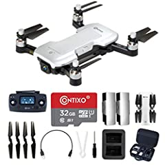 [4K Ultra High Definition Camera] Our Ultra High Definition camera utilizes every pixel giving you crystal clear photos and video. This allows the camera to provide smooth 4k video at 3840x2160. [Portable & Lightweight] This 4K drone with camera has ...