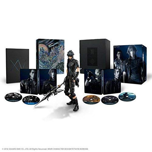 Final Fantasy xv 15 ultimate collector's edition ps4 PLAYSTATION 4