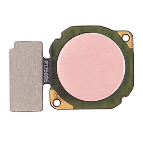 Nuevo botón de huellas dactilares cable flexible for Huawei P8 Lite (2017) / Maimang 6/8 Plus Disfrute/del a 9 Lite/del a jugar 7X / Nova 3 / del a Play (Negro) Powerxu (Color : Rose Gold)