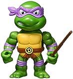 Jada Toys Teenage Mutant Ninja Turtles 4' Donatello Die-cast Figure, Toys for Kids and Adults, Purple