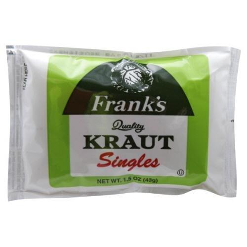 single sauerkraut - 2