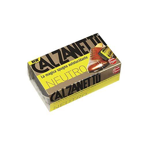 Calzanetto Spugna, Neutro, Trattamenti e Lucidi Scarpe, Beige, 4.5 x 4.5 x 12.7 Cm