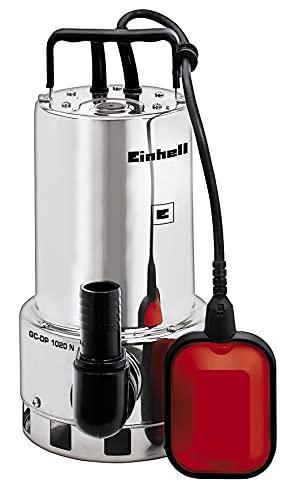 Einhell - GC-DP 1020 N - Bomba de aguas sucias (1000W, capacidad de 18.000l/h, profundidad max. de 5m, conexión de manguera 47.8mm) (ref. 4170773)