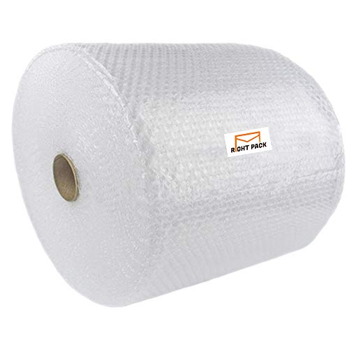 Right Pack Large Strong Roll of Bubble Wrap 500mm x 100m – Small Air Bubbles Packaging for House Moving, Sofa Furniture & Packing Storage Boxes Wrapping
