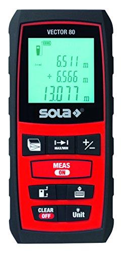 Sola 71021101 VECTOR80 Laser-Entfernungsmesser Vector 80