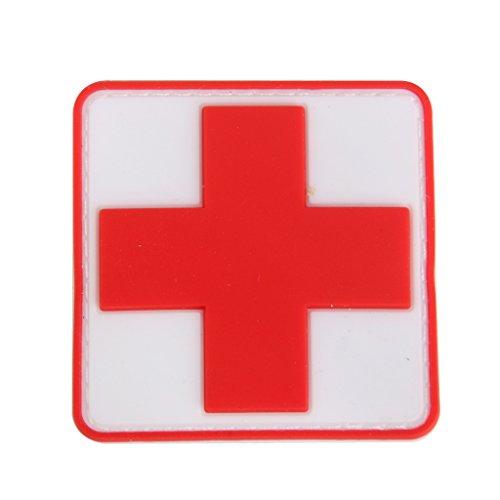Sharplace Outdoor Erste Hilfe Rotes Kreuz Klettverschluss Abzeichen Patch