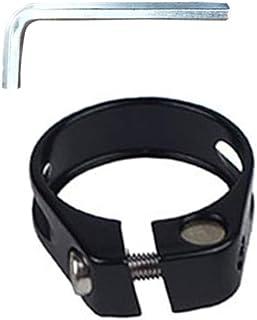 Fauge Collier de serrage en fibre de carbone pour tige de selle de v/élo 34.9 mm pour v/élo VTT 31,6 mm//30,8 mm