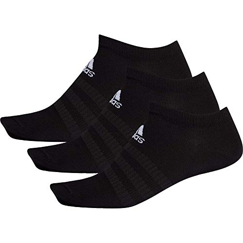 adidas Light Low 3PP Socks, Black/Black/Black, XXL