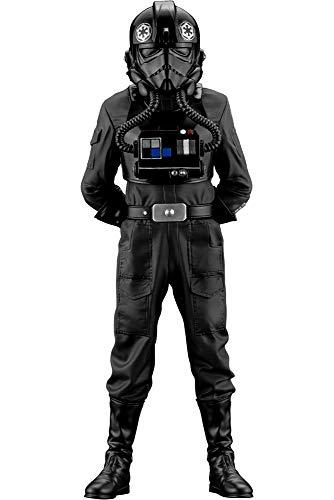 Estatua de Star Wars Una nueva esperanza TIE Fighter Pilot ARTFX+