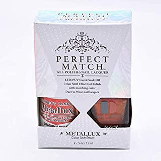Lechat Perfect Match Gel Polish + Nail Polish Metallux Collection MLMS11 Dragon's Breath