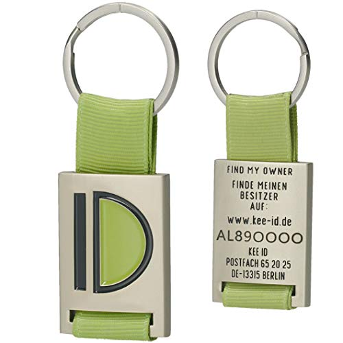 KEEID eleganter Schlüsselfinder Outdoor Key Finder Schlüsselanhänger intelligentes Fundsystem Anhänger geeignet für Schlüssel Rucksäcke grün