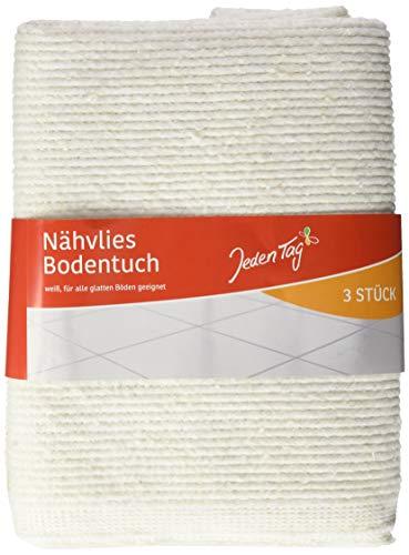 Jeden Tag Nähvlies-Bodentuch, 3 Stück, 206 g