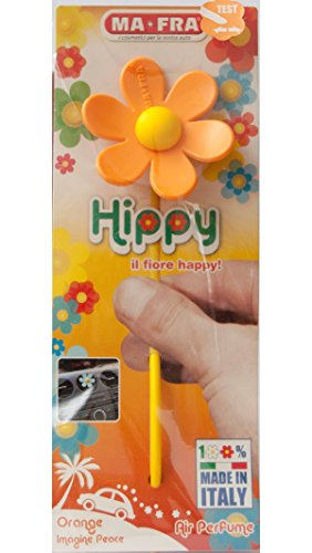Parfum de Voiture MA-FRA Hippy Orange Imagine Peace