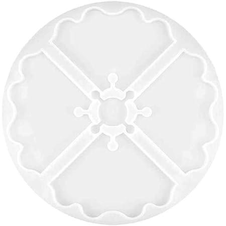 Moulessilicone Resine Dessous De Verre Epoxy Moulle pour Resine Artisanat Faire DIY luckything Silicone Coaster Mold Moulle en Silicone pour Resine