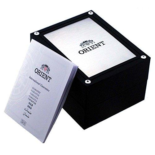 Orient Orologio Analogico Automatico Uomo con Cinturino in Acciaio Inox RA-AA0002L19B