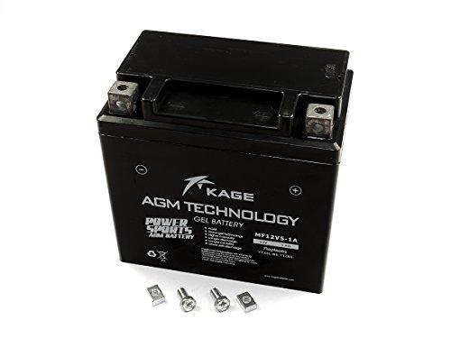 GEL-Batterie-KAGE YTX5L-BS / YTZ6S 5AH Husaberg FE FS
