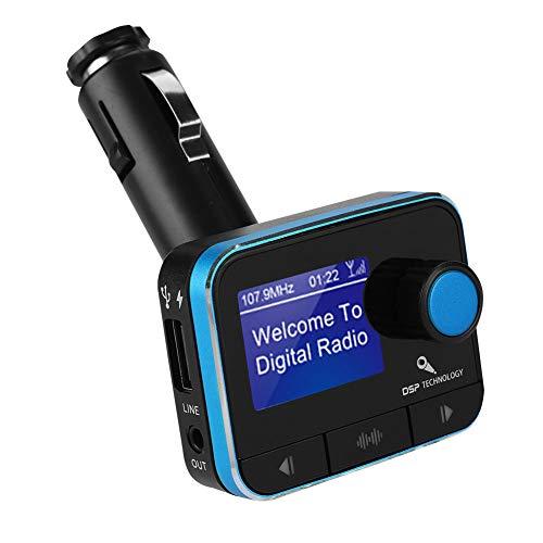 DAB/DAB + -Empfänger FM-Transmitter Auto Bluetooth-Player unterstützen U Disk TF-Karte