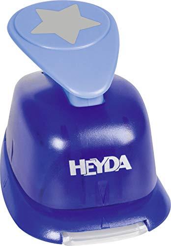 Heyda 203687503 Heyda 203687503 Motivstanzer groß Motivgröße: ca. 2,5 cm, Motiv: Stern