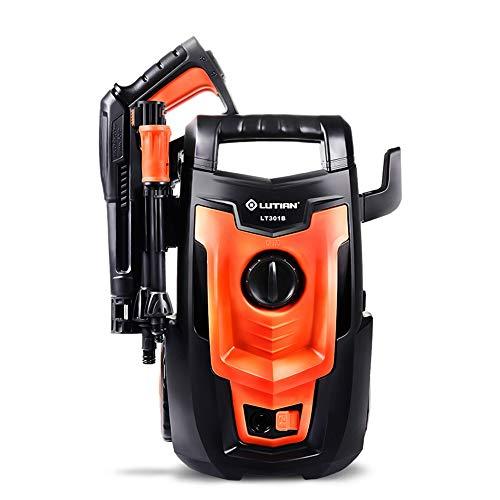 Machine à laver de voiture électrique Machine à laver à haute pression de voiture à la maison 220V 1400W IPX5 Pompe à eau de lavage de voiture étanche Portable (orange) (Couleur : #1)