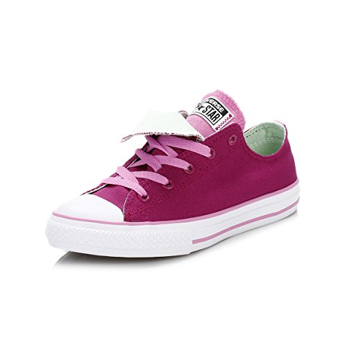 Converse Kinder Rosa Sapphire Double Tongue All Star Low Sneakers-UK 3