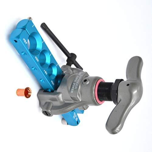 Cartellatrice a frizione dima in pollici - professionale ultra leggera in alluminio - da 1/4' a 3/4'