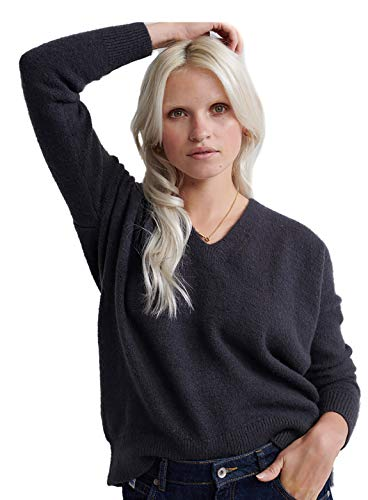 Superdry Isabella Slouch Vee Knit Pullover voor dames