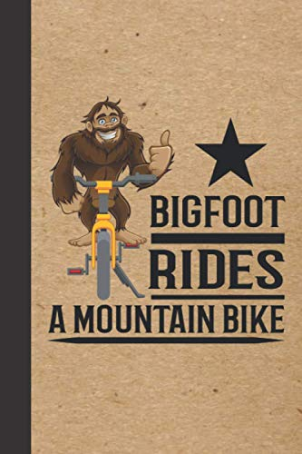 Mountain Biking Log Book: Mountain Biker Gift for Off Road Biking Cycling Enthusiasts | Mountain Bike Notebook for Rating Rides and Trails