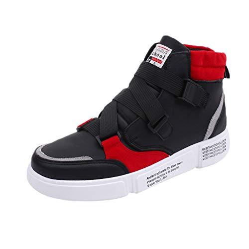 KERULA Sneaker Herren Damen Trend High Top Outdoor Sneakers Wild und bequem Hip Hop Freizeitschuhe Sicherheitsschuhe Trekkingschuhe Laufschuhe Schuhe