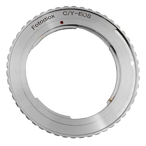 Fotodiox Anillo - Adaptador para Objetivos de cámaras Canon EOS, Plateado