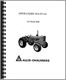 Allis Chalmers 615 Backhoe Operators Manual