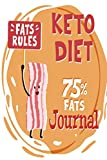 Keto Diet Journal: 26 Week Meal Planner Shopping List Intermittent Fasting Recipe Book For Beginners