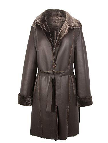 Zerimar Chaqueta Mujer | Abrigo Mujer | Abrigo Cuero | Abrigo Doble...
