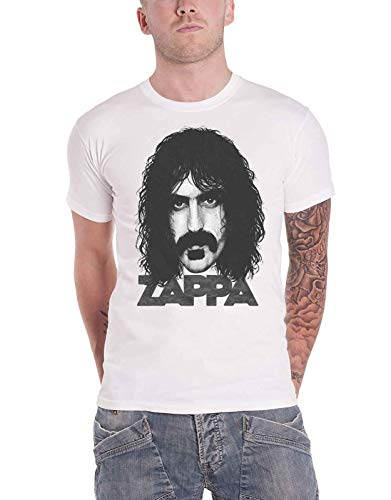 Frank Zappa T Shirt Big Face Portait Logo Nue offiziell Herren