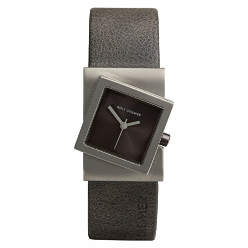 Uhr - Analog Quarz - Titan Leder - Turn - braun