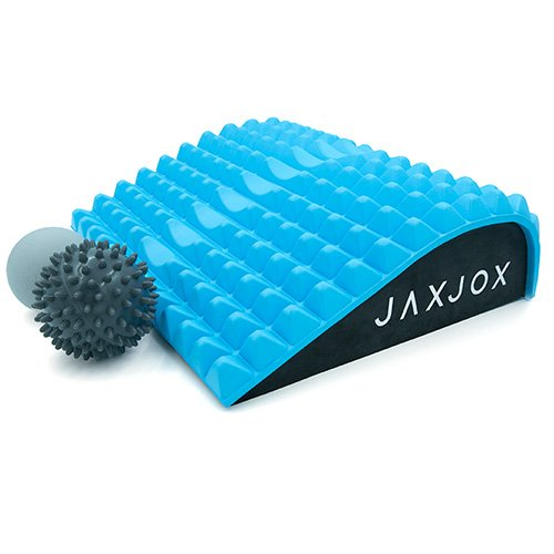 JAXJOX Lumbar Restore Set - Includes: Neck and Back Lumbar Mat and 2 Massage Balls