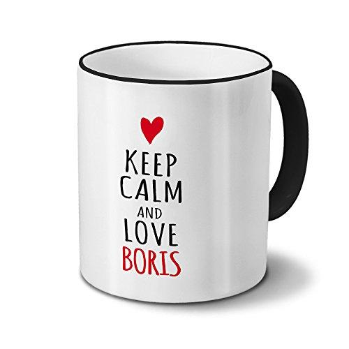 Tasse mit Namen Boris - Motiv