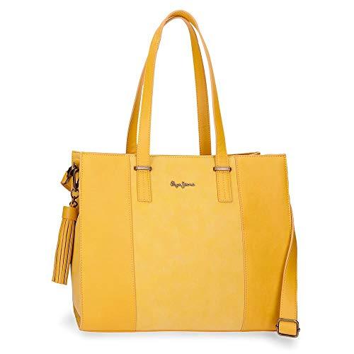 Pepe Jeans Bitmat Tasche oder Rucksack, gelb (Gelb) - 7527465